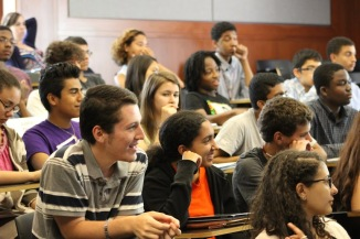 Students respond to questions on modern technology and the future of STEM.