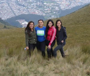 Valarezo and three fellow students from Columbia University travel across Ecuador and Brazil to conduct research on different education systems.